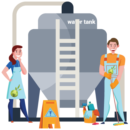 Water Tank Cleaning & Disinfection